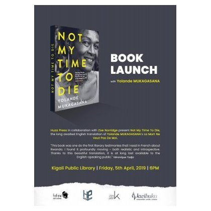 Not My Time To Die - official launching